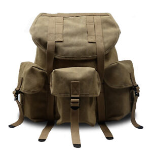 Replica WW2 US Army Style M14 Backpack Outdoors Packs Canvas bag