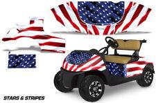 Golf Cart Graphics Kit Decal Sticker Wrap For EZ-Go TXT 2014-2018 USA FLAG