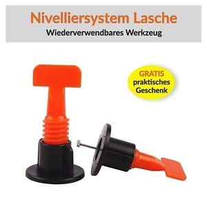 Levello Wiederverwendbares Nivelliersystem Fliesen Verlegehilfe Laschen / Clips
