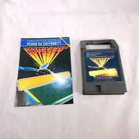 Odyssey II Pong! w/ manual Packrat Video Games Homebrew TESTED GUARANTEED!
