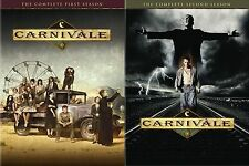 Carnivale . The Complete HBO Series . Season 1 + 2 . 12 DVD . NEU . OVP