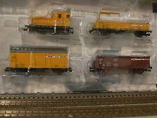 LILIPUT h0 l230103 bauzug-set société wiebe locomotive avec trois voitures EP IV/v