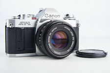 Canon AV-1 35mm SLR Film Camera FD 50mm f/1.8 Lens & Fresh Batteries NR Mint V12