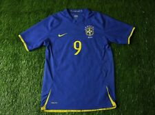 BRAZIL NATIONAL TEAM #9 2008/2010 FOOTBALL SHIRT JERSEY AWAY NIKE ORIGINAL YOUNG
