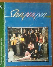 Shanana Souvenir Program Book 1979 Musicians 15 Page Grease for Peace HS