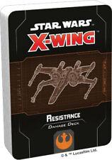 Star Wars X-Wing 2nd Ed Resistance Damage Deck by Fantasy Flight SWZ75