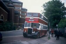PHOTO  1995 A WIGAN CORPORATION BUS OUTSIDE RICKMANSWORTH STATION TAKEN IN MAY 1