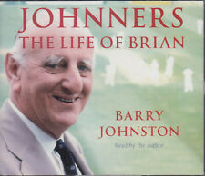 Johnners The Life of Brian Barry Johnston 3CD Audio Book Cricket Commentator