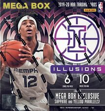 2019-20 Panini Illusions Basketball Mega Box Sealed