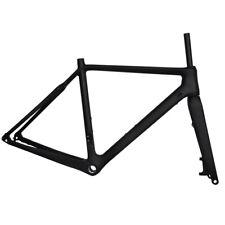 700C Carbon Cyclocross CX Gravel Bike Frames Disc Flat Mount Thru Axle BSA BB30
