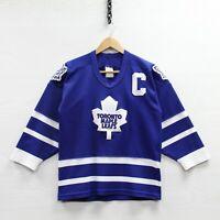 Vintage Doug Gilmour #93 Toronto Maple Leafs CCM Maska Jersey Youth XL 90s NHL