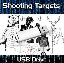 3000+ PRINTABLE SHOOTING TARGETS - RANGE SHOOTING, BOW, BB GUN, AIRSOFT, RIFLE