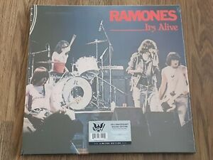 RAMONES - IT'S ALIVE 2LP + 4CD SET 40th ANNIVERSARY LOW NUMBER 0068 NEW SEALED