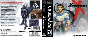 - Xenogears PS1 NTSC Replacement Jawel Case + Cover Art Insert Only