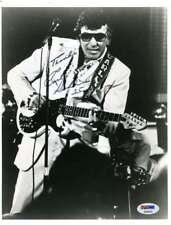 Carl Perkins Psa Dna Hand Signed 8x10 Photo Original Autograph