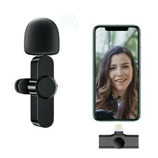 Plug-Play Upgraded Lavalier Wireless Microphone (NO APP or Bluetooth Needed)