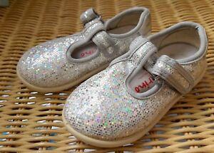 Lauflern-Schuhe von Naturino * 20 * Glitzer Sommer Sandalen Schnallenschuhe 🌞