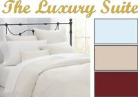 600 THREAD COUNT EXTRA DEEP FITTED SHEETS 100% EGYPTIAN COTTON HOTEL COLLECTION