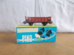 Ancien wagon vintage - PIKO HO - Wagon tombereau FS ITALIA avec boite - 60/70s