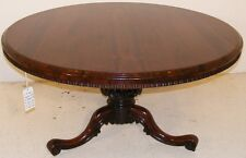GOOD QUALITY ANTIQUE 19TH CENTURY ROSEWOOD CENTRE OR BREAKFAST TABLE