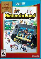 NEW Nintendo Land Nintendo Selects (Nintendo Wii U, 2016)