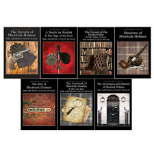 The Complete illustrated Sherlock Holmes 7 Books Box Set By Arthur Conan Doyle