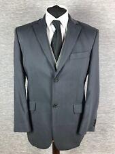 Balmain Mens Blazer Size 38S Black Grey Wool