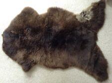 GENUINE SHEEPSKIN RUG (MIX OF BROWNS) - LARGE