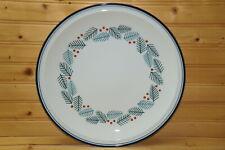 "Dansk Bistro Christmas Round Chop Plate, Platter, 12 1/8"" Wall Hangable"