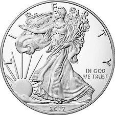 2017 W Silver American Eagle Coin PF in OGP