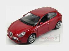 Alfa Romeo Giulietta 2010 Red Met Burago 1:24 BU22128