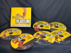 Beachbody Insanity the Asylum Volume 1 Sports Performance 6 DVD set Excersise
