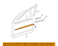 Pontiac GM OEM 03-08 Vibe Front Door-Center Molding Right 88974142