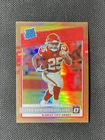 2020 Donruss Optic #171 Clyde Edwards-Helaire Rated Rookie Bronze Prizm - Chiefs