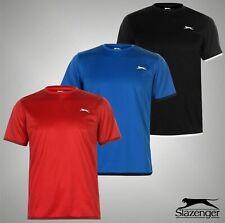 Mens Slazenger Lightweight Tennis Short Sleeves Court T Shirt Sizes S-Xxl