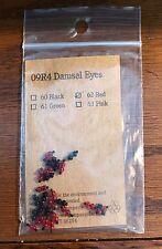 Orvis Red Damsel Fly Fishing Tyers Eyes