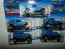 5) Hot Wheels Lot 1932 '32 Ford Delivery Only 23806 1998 98 Great For Customs
