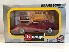 1/24 Burago Voiture Miniature Ferrari GTB Rally Neuf