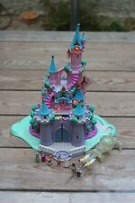 POLLY POCKET BLUEBIRD DISNEY CENDRILLON CHATEAU LUMINEUX