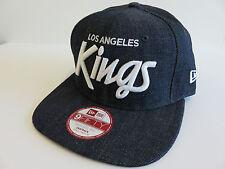 NEW ERA NHL 9FIFTY 950 ICE HOCKEY CAP LA KINGS DENIM SNAPBACK REDUZIERT VINTAGE