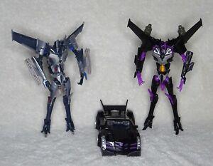 Transformers Prime Deluxe First Edition Starscream, FE Vehicon, Import Skywarp