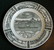 Wedgwood St Lawrence Seaway 1959 Commemorative Plate