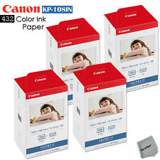 432 Color Ink Paper - 4 Pack Canon KP-108IN sheets for Canon Selphy CP760