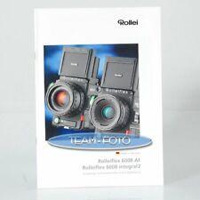 Original Rollei Prospekt - Prospekt Rolleiflex 6008 AF / 6008 Integral 2