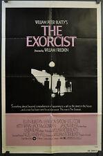 THE EXORCIST 1974 ORIGINAL MOVIE POSTER 27X41 1-SHEET LINDA BLAIR MAX VON SYDOW