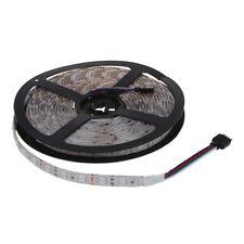 5M 300 5050 SMD LED Lichterkette Licht Strip Leiste RGB Wasserdicht DC 12V E5P4