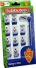 Official REAL ZARAGOZA 2017 Subbuteo Team Football Soccer Toy Game Kids Licensed
