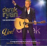 Derek Ryan - The Entertainer Live CD Irish Country Music CD