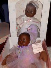 LOT OF 2 VINTAGE DOLLS  MADAM ALEXANDER HUGGUM SPEC DELEVERY  ACTIVITY BABY MIB