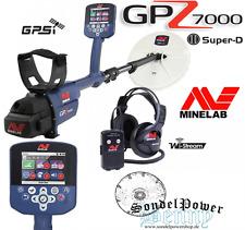 Minelab GPZ7000 GPZ 7000 Golddetektor Gold Detector Metalldetektor Profi